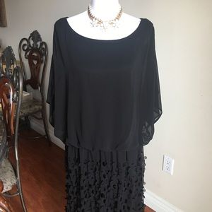 Black dress with lining